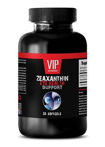 vision support eye formula supplement - ZEAXANTHIN (EYE HEALTH SUPPORT) - vision health supplement - 1 Bottle 50 Softgels by VIP Supplements