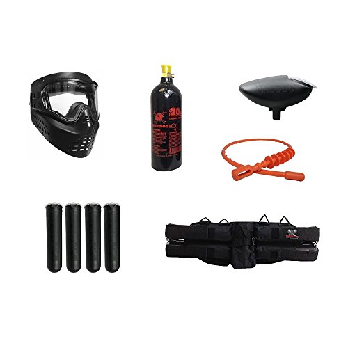 MAddog Silver Paintball Gun Accessory Package