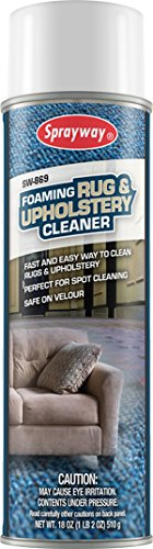 Sprayway SW869 Foaming Rug and Upholstery Cleaner, 18 ()