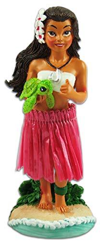 KC Hawaii Napua Honu Hula Girl Miniature Dashboard Doll