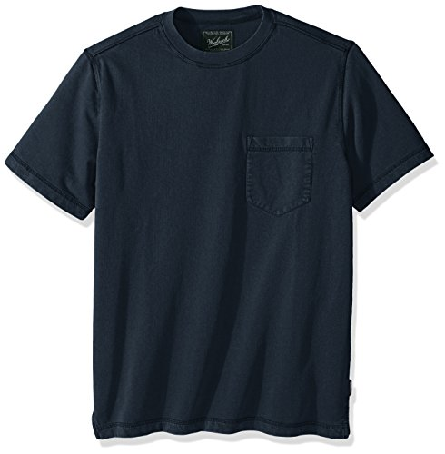 Woolrich Men's Crescent Lake Terry Modern Fit Tee, Shadow, Large