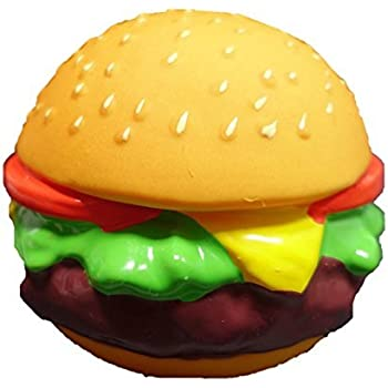 Amazon Com Latex Fast Food Design Dog Toy Hamburger