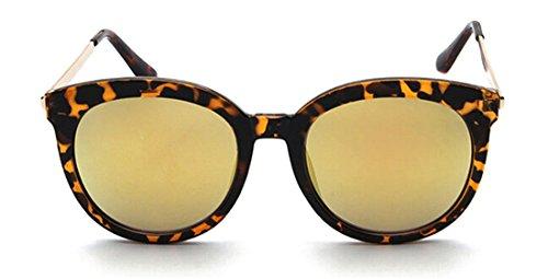 GAMT Retro Unisex Cateye Sunglasses Fashion Wayfarer Eyewear Gold - Sunglass Reading Sunglasses Hut