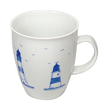 Cup und Mug Becher Leuchtturmkette 500ml