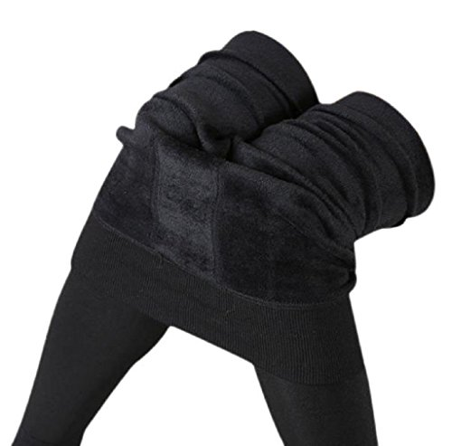 Leggings,Morecome Women Thick Warm Fleece Lined Thermal Stretchy Pants (Black)