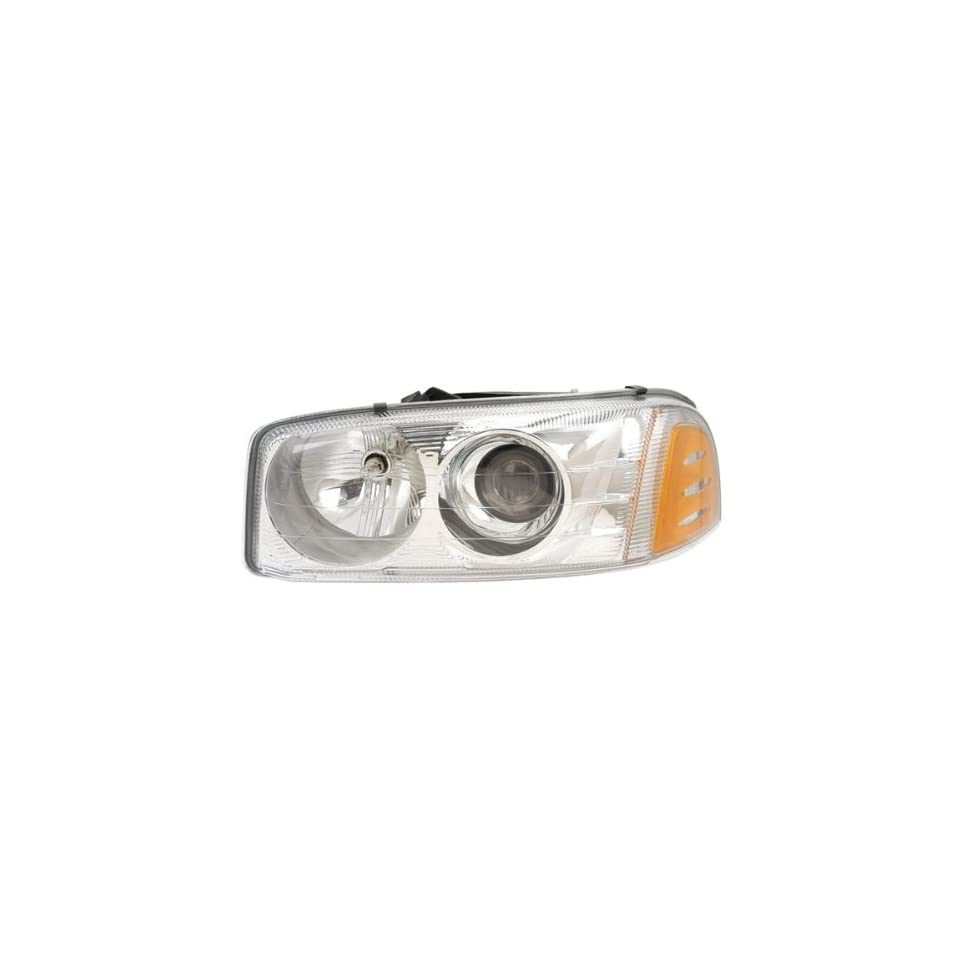 2001 2006 GMC Yukon & XL 1500, 2001 C3 1500 HD, 2002 2007 Sierra Denali Sport Utility 4 Door SUV Truck Headlight Headlamp Composite Halogen Front Head Light Lamp Left Driver Side (01 2001 02 2002 03 2003 04 2004 05 2005 06 2006 07 2007)