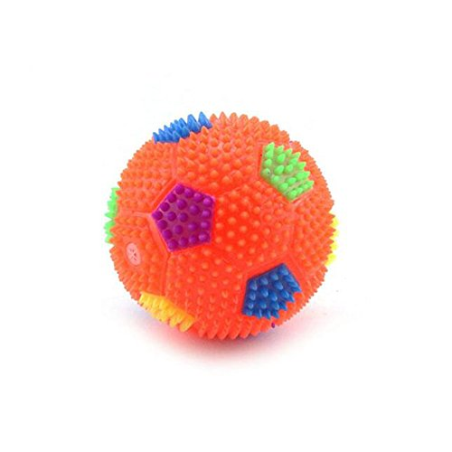 Novelty Light-up and Sound Soccer Ball Toys for Kids and Toddlers,Luninous Soccer Bouncing Ball Flashing Party Favor Ball for Children Babies Gift - (Sound Ball Baby Toy)