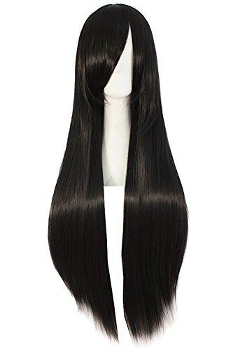 Straight Black Wig (MapofBeauty 32