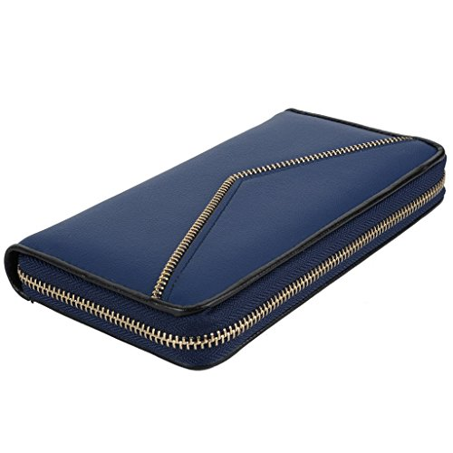 Yaluxe-Mujer-Cuero-Genuino-Guarda-Tarjeta-Grande-Billetera-Fit-Iphone6s-Plus-Samsung-Galaxy-S5-Caja-De-Regalo