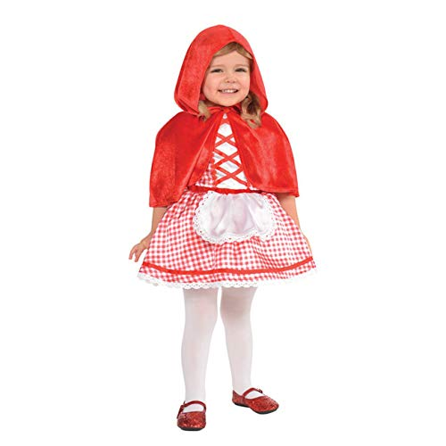 amscan Baby Little Red Riding Hood Costume - 12-24 Months -