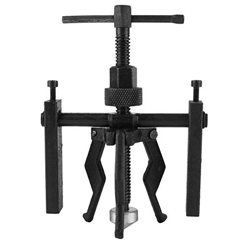 DEDC 3 Jaw Inner Bearing Puller, Carbon Steel Manual Pilot Sleeve Gear Bearing Puller Extractor Tool Kit Automotive Machine Extractor 3-Jaw