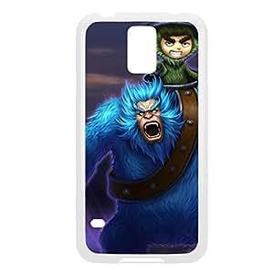 Nunu-004 League of Legends LoL For Case Samsung Note 4 Cover - Plastic White