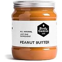 BODY GENIUS Smooth Peanut Butter. 1000g. Crema