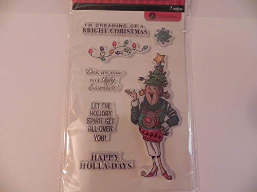 - Art Impressions Unmounted Clear Stamps, Christmas Sweater