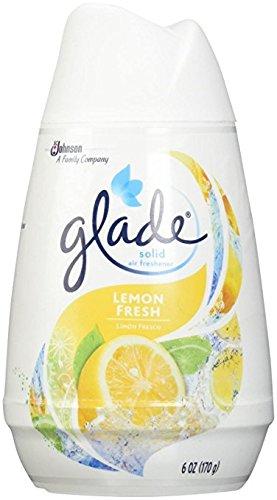 Glade Solid Air Freshener 6Oz Lemon Fresh Pack ()