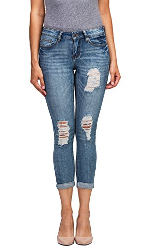 Blue 2 Flare Jeans - 4