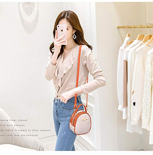 Trend Pack Style Small Glqym Bee Shoulder Bag Single Mini Bag Slanting Female Pu Casual Leather Old 8wqC1OwI