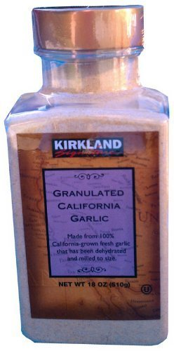 Kirkland Signature Granulated California Garlic 18 oz by Kirkland [Foods]