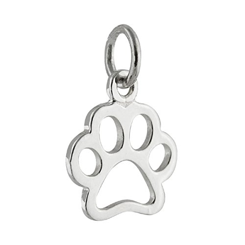 Outline Sterling Silver Charm - 9