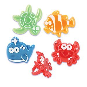 Sealife Beach Character Cupcake Rings - 24 ct for $<!--$7.15-->