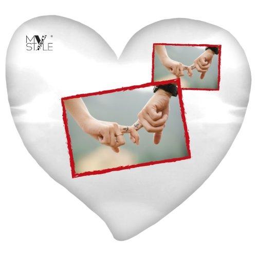 My Custom Style® Cojín personalizado con forma de corazón de ...