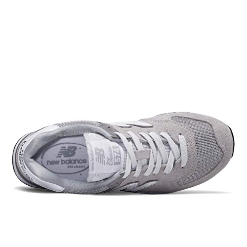 New Balance 574, Zapatillas para Mujer Gris (Grey)