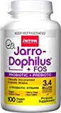 Jarro-Dophilus + FOS, Supports Intestinal and Immune Health, 3.4 Billion Organisms Per Cap, 100 Count (Cool Ship, Pack of 3)