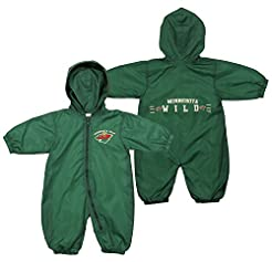 Minnesota Wild NHL Baby Boys Infants Hoo...