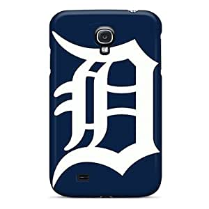 PhilHolmes Samsung Galaxy S4 Best Cell-phone Hard Cover Provide Private Custom High-definition Detroit Tigers Image [pqh6088WHdD]