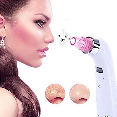 Aspirador Electrico Para Eliminador Puntos Negros, 4-In-1 Limpiador de Poros Limpiador Puntos Negros y Espinillas, Facial limpiador de poros puntos negros acné: Amazon.es: Belleza