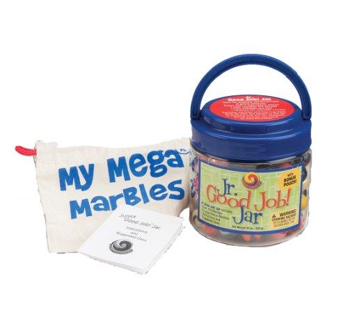 (MegaFun USA Jr Good Job Jar with Mega Marbles)
