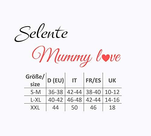 Selente Mummy Love Pantaloni/Leggins Lunghi Gravidanza a Fascia extraelastica. Made in EU. Premaman