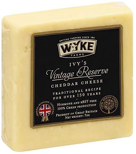 Wyke Farms, Ivy's Vintage Reserve Cheddar, 7 oz. (6 pack)