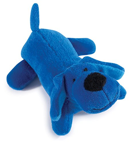Zanies Neon Lil' Yelper Dog Toys, Blue, 5