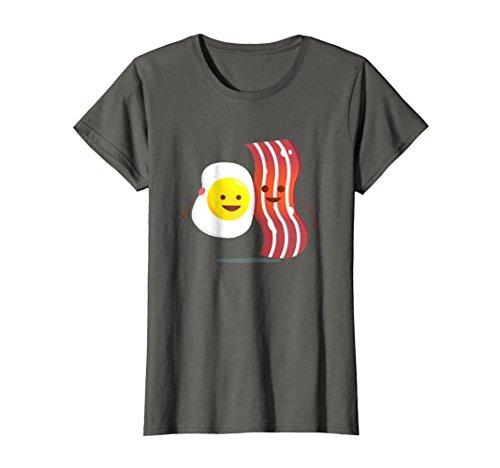 s T-Shirt | Best Breakfast Brunch Friends Tee Medium Asphalt ()