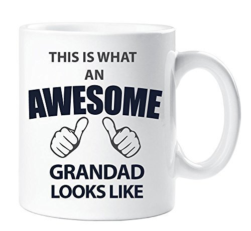 This Is What An Awesome Grandad Looks Like Mug Gift Fathers Day Present