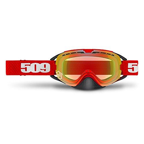 509 Revolver Anti-Fog Snowmobile Goggles (Red)