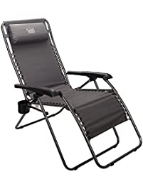 Timber Ridge Zero Gravity Lounger Chair Oversized XL Patio Recliner For  Outdoor Support 300lbs