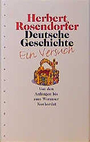 Deutsche Geschichte, Bd.1, Von den Anfängen bis zum Wormser Konkordat