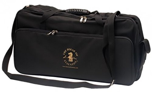 The House of Staunton Deluxe Chess Tournament Bag - No Logo - by The House of Staunton