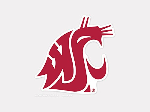 WinCraft NCAA Washington State University Perfect Cut Color Decal, 4