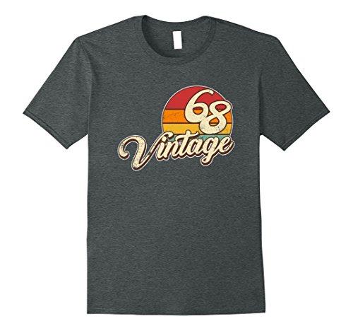 Mens 50th Birthday Gift Vintage T Shirt XL Dark Heather