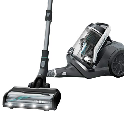 BISSELL Pet Hair Eraser Bagless Cylinder Canister Vacuum Cleaner, 2230