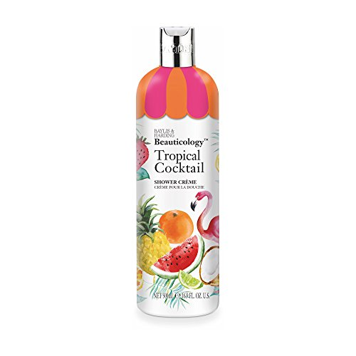 Baylis & Harding Baylis & Harding Beauticology Tropical Cocktail 500ml Shower Creme, Pack Of 3, 582 (Lime Coconut Cocktail)