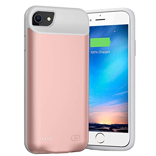 Battery Case for iPhone 8/7/6s/6/SE 2020(2nd Generation),6000mAh Portable Charger Case Rechargeable Battery Pack…