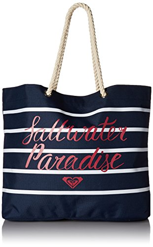 (Roxy Tropical Vibe Tote Bag, dress blues)