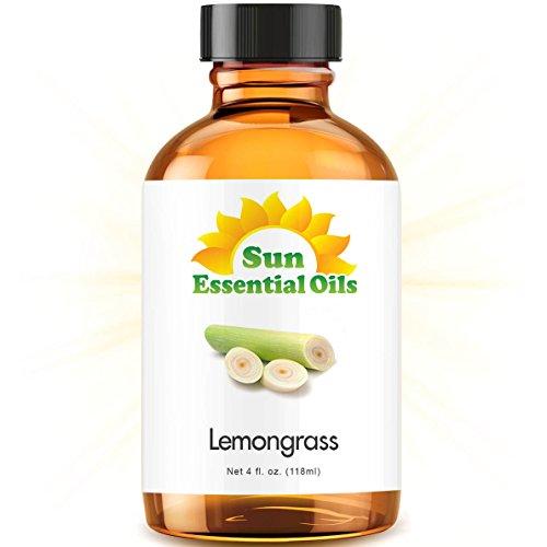 Lemongrass Essential Oil Huge 4oz Bottle Bulk Lemongrass Oil  4 Ounce