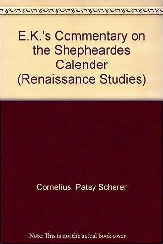 "Descargar Con Mejortorrent E.k.'s Commentary On The ""shepheardes Calender"" De PDF A Epub"