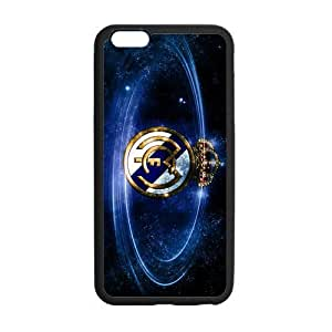 Diy Yourself Custom Football Team Real Madrid Logo and Galaxy Space cell phone case cover Laser Technology for iphone 4 4s eq5mHRscseK Designed by HnW Accessories