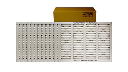 24 W x 24 H x 1 D Mechanical MERV 8 Sterling Seal KP-5251079133x6 Purolator Key Pleat Extended Surface Pleated Air Filter Pack of 6